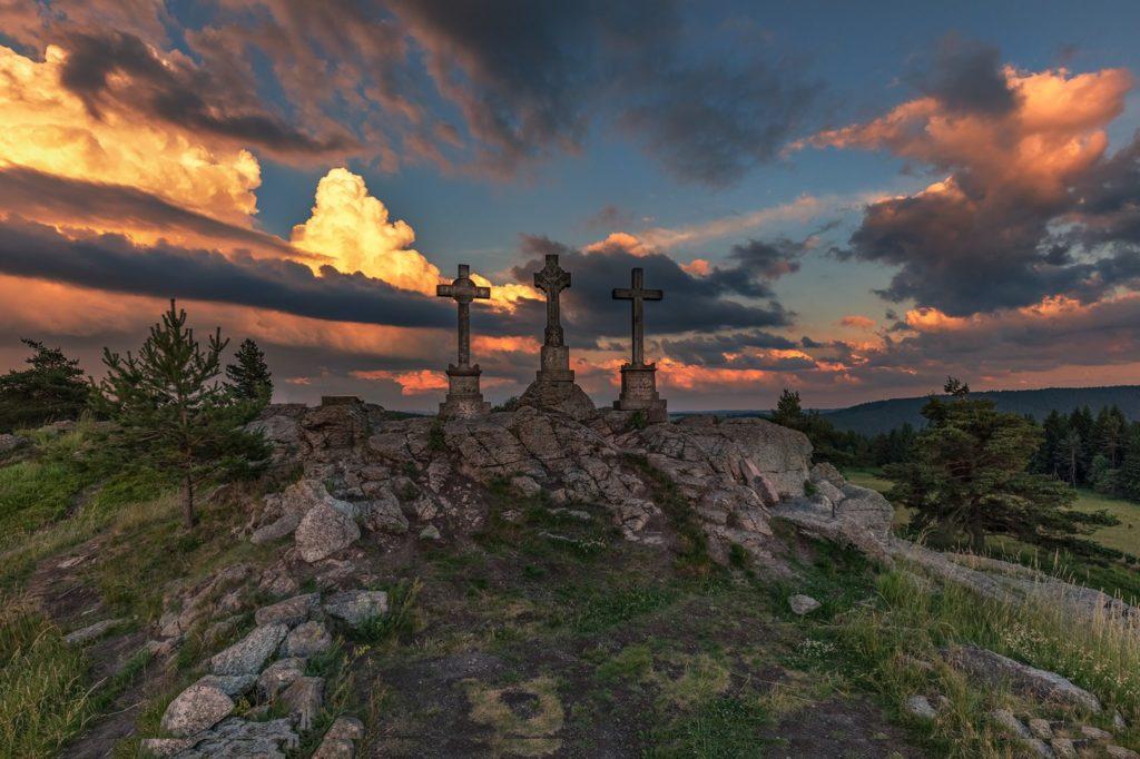 U tří křížů (Foto: Marie Slehoferova Frazova)