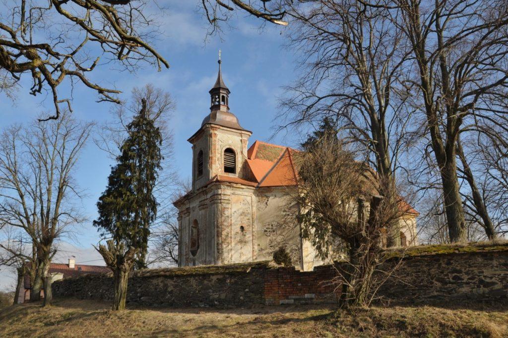 Kostel sv.Martina (Damnov) (foto: Dagmar Motyčková)