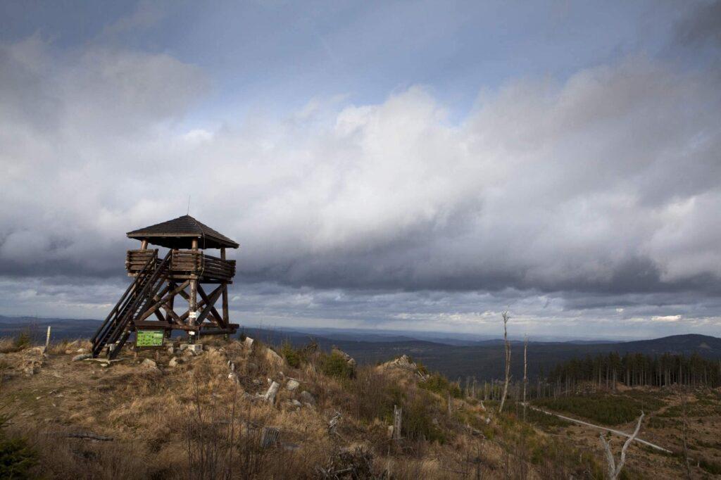 Rozhledna Knížecí stolec (Foto: Helena Horáčková)